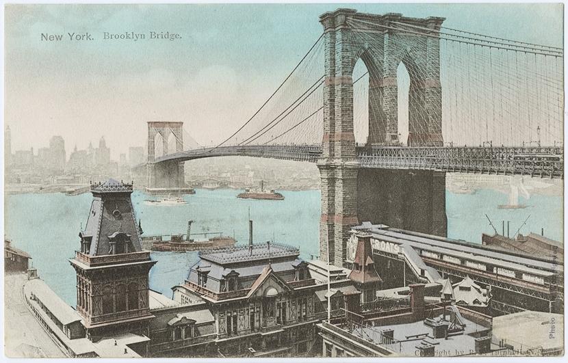 Brooklyn Bridge Postcard1