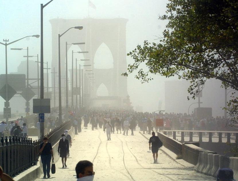 Getty Images - Brooklyn Bridge 9/11
