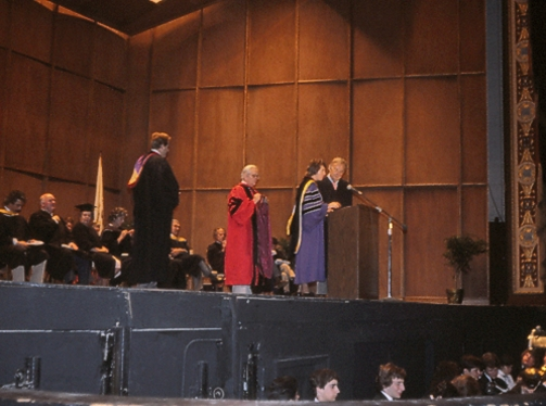 Graduation Lee Hall