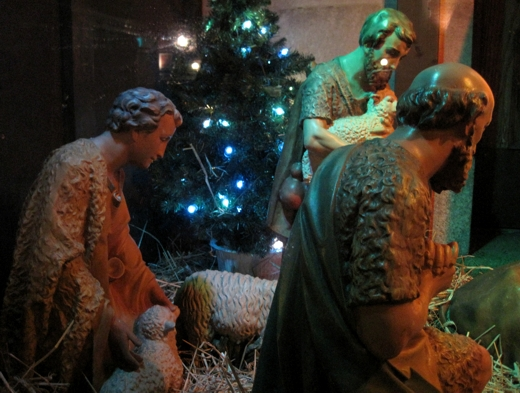 Manger Scene - Greenwich Village, Christmas 2012
