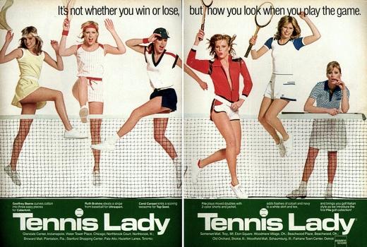 Tennis Lady