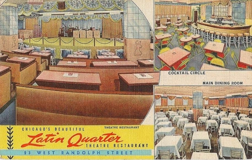 Latin Quarter Restaurant Theater 1944