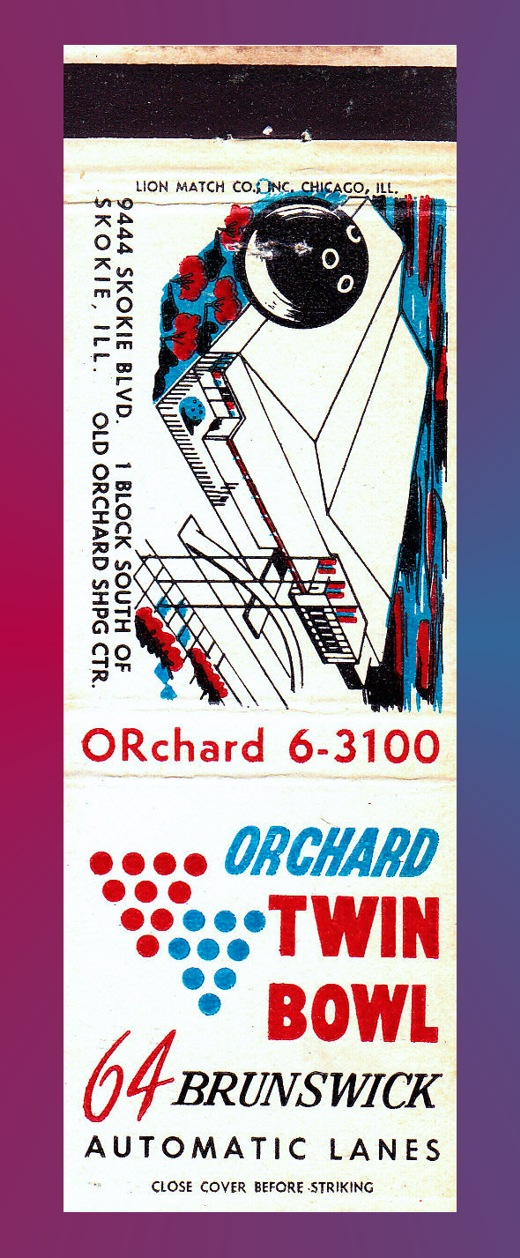 Orchard Twin Bowl Matchbook