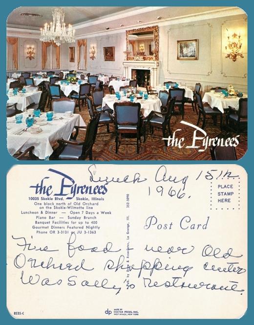 Pyrenees Postcard