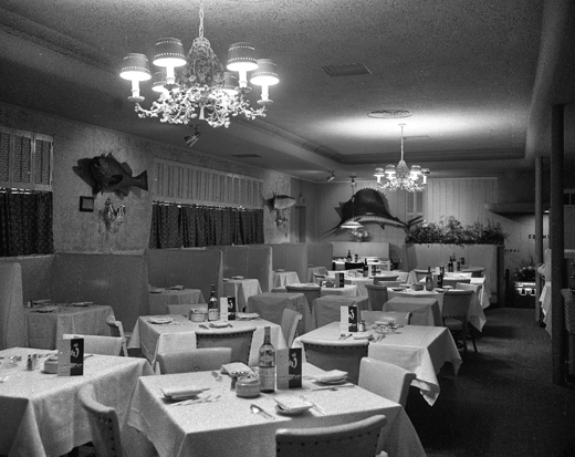 Cork Restaurant, December 22, 1961, Eric Bronsky