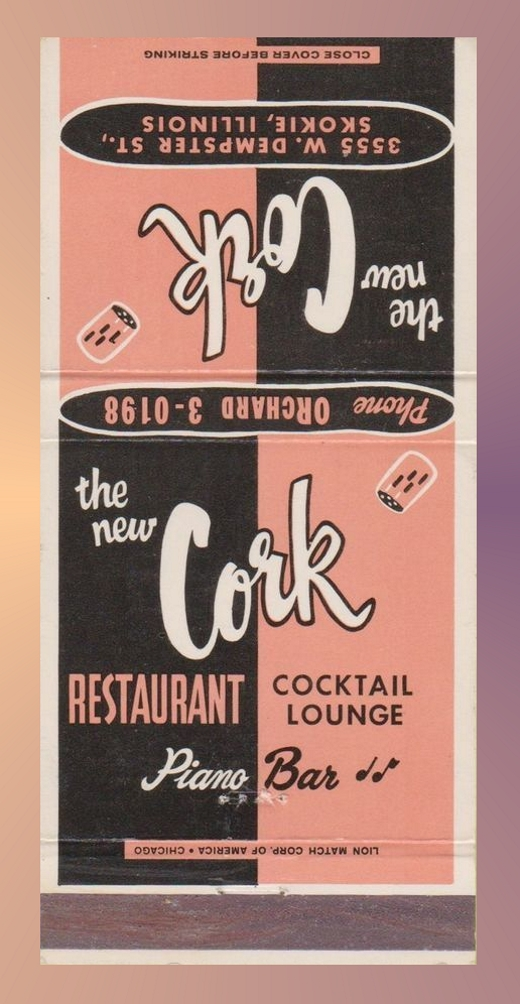The Cork Matchbook