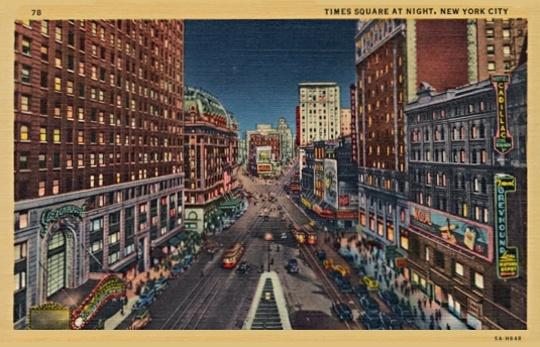 Times Square Circa 1930s