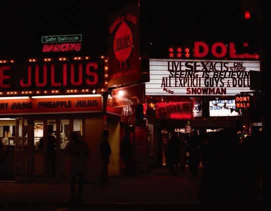 Times Square at Night 1977