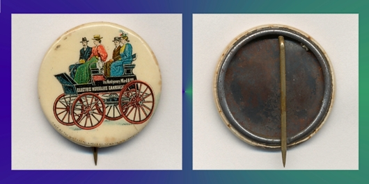 Antique Montgomery Ward Pinback