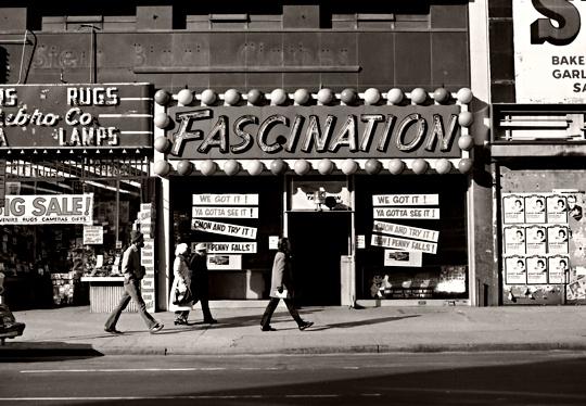 Times Square by Betsy van Die, 1978