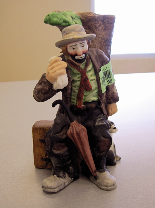 Flambro Clown Figurine