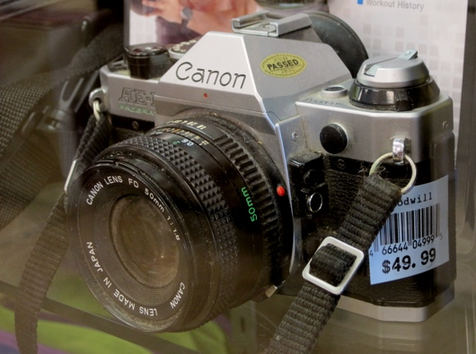 Second Canon AE-1