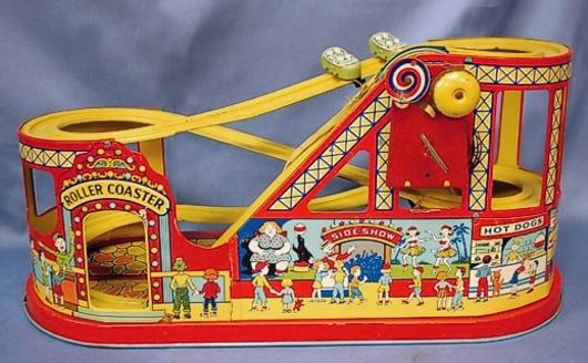 Chein Roller Coaster