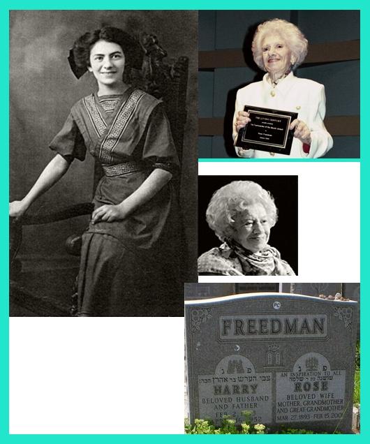 Rose Rosenfeld Freedman
