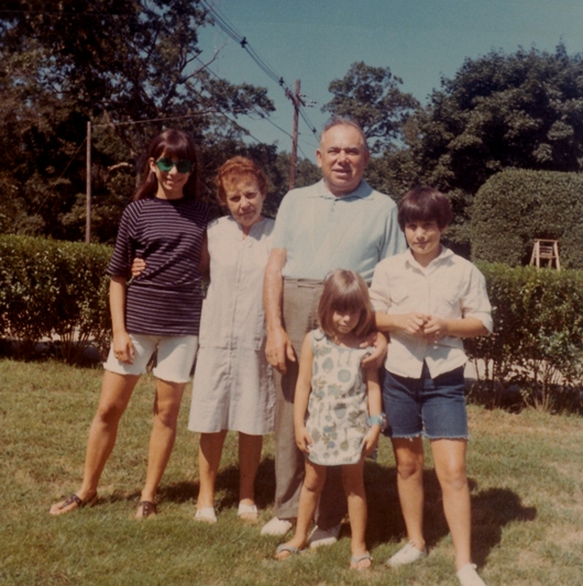 Janet (Front) & (From Left): Debbie, Ella, Sol, Betsy - August 1968