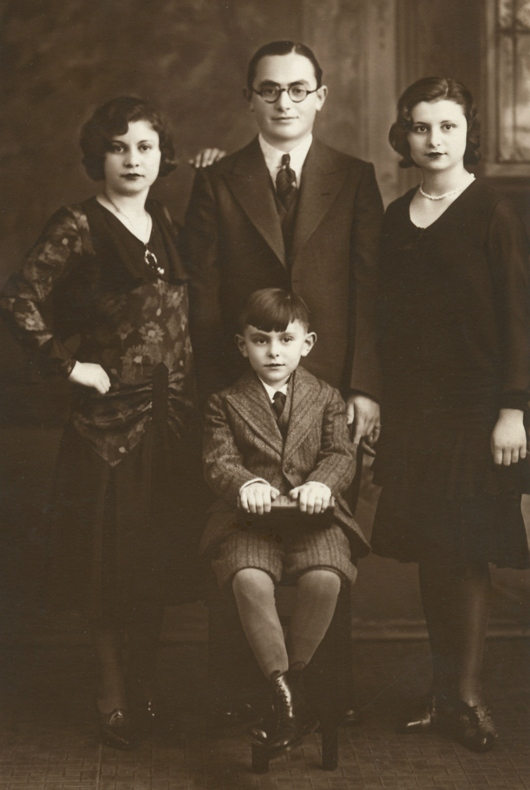 My Dad Sam (Front) & Siblings (From Left): Ella, Jack, Dottie - 1932
