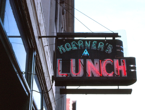 Koerner's A Lunch