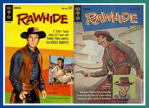 Eric Fleming Gold Key Comic Book Covers