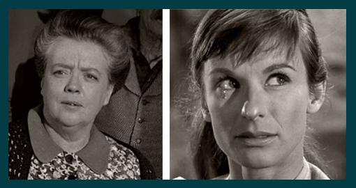 Frances Bavier ~ Cloris Leachman