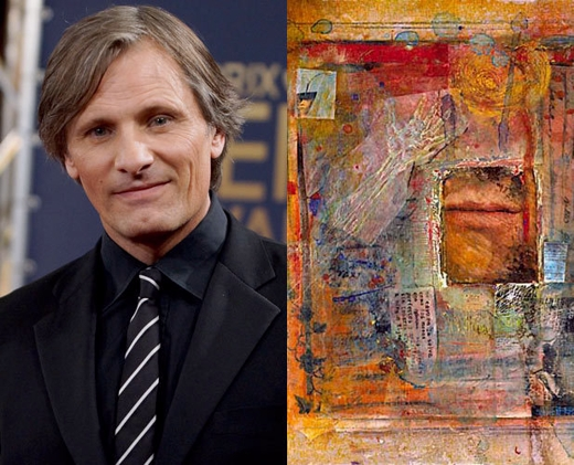 Viggo with Collage