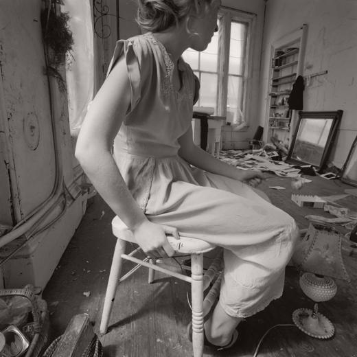 Francesca in Studio by Doug Prince, 1976-1979