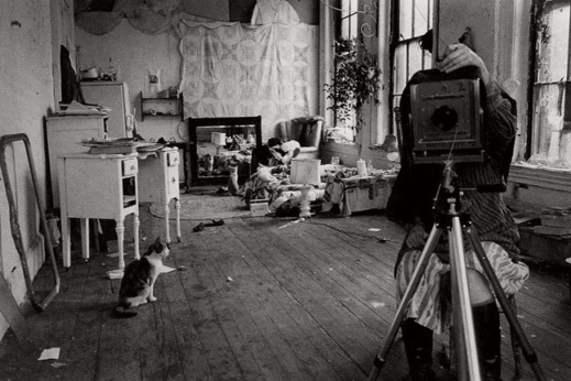 Self Portrait in Her Studio Providence, 1976