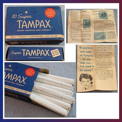Vintage Tampax