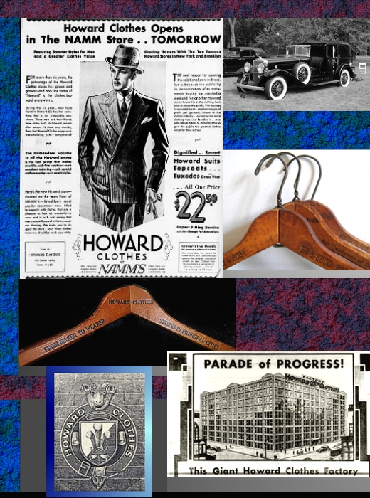 Howard Clothes Collage
