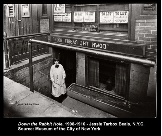 150 West 4th Street - Down the Rabbit Hole