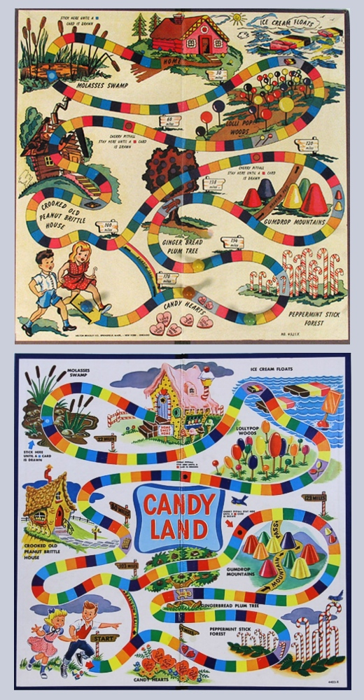 Candy Land 1949 to 1960s