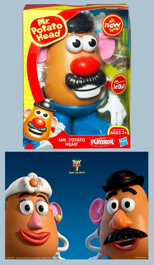 Current Mr. Potato Heads
