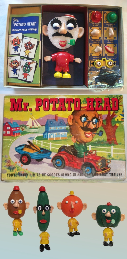 Mr. Potato Head 1952, 1955-1960s