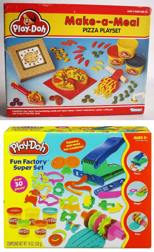 Play-Doh Pizza Set 1991 & Current