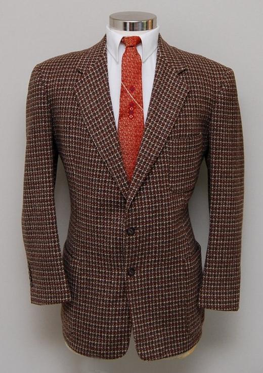 Howard Clothes Tweed Blazer 1940s