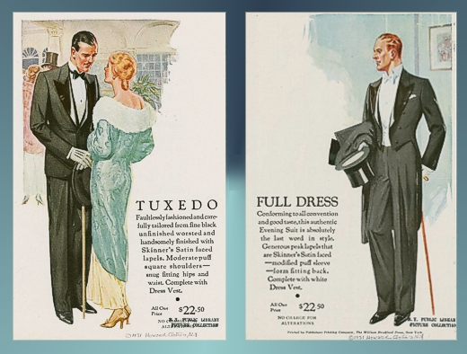 Howard Clothes Ads 1934 and 1931 - NYPL