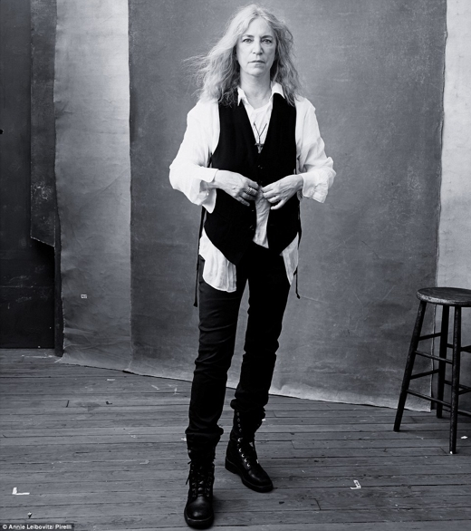 Patti Smith Pirelli Calendar