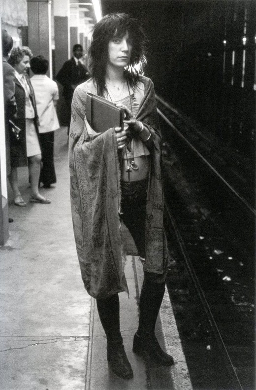 Patti Smith Subway - 1971