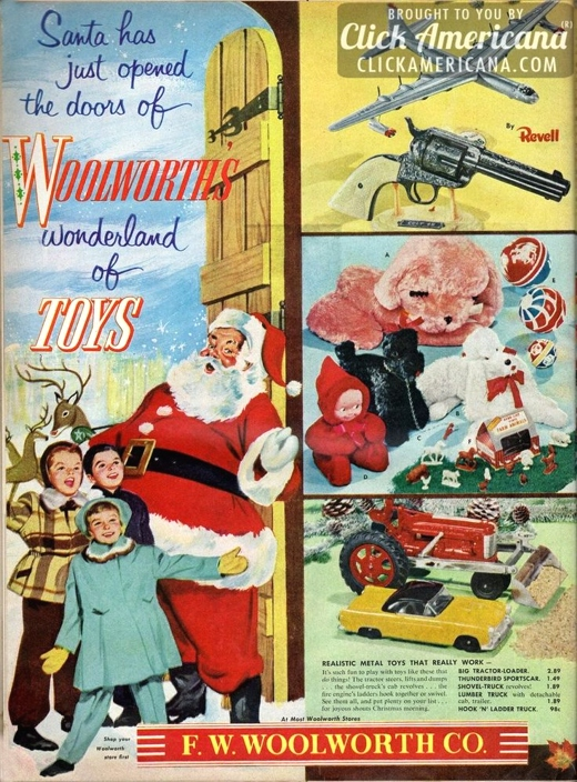 Woolworth's Christmas Ad