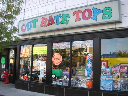 Cut Rate Toys