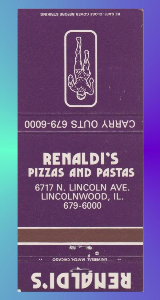 Renaldi's Pizza and Pastas