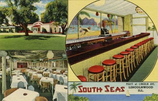 South Seas Postcard