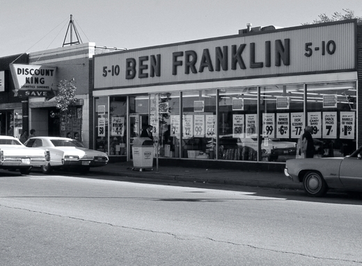 Ben Franklin Skokie 1975