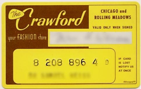 Crawford Charge Card