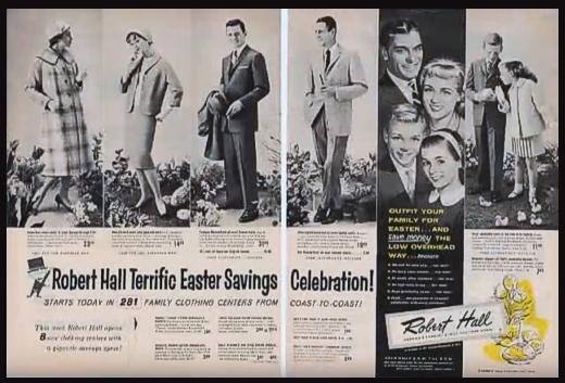 Robert Hall Ad