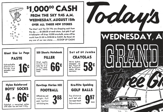 Shoppers World Chicago Tribune Ad