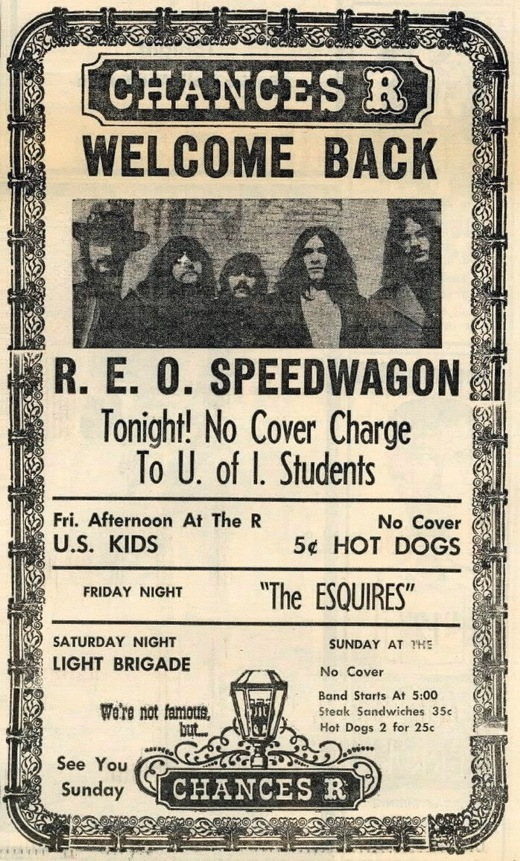 Chances R REO Speedwagon
