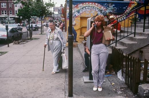 North Wells Street May 1985 by Jeff Wassmann