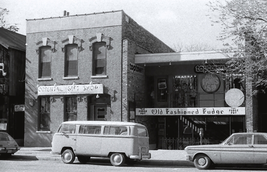 Oriental Gift Shop TopTown and the Fudge Pot 1971