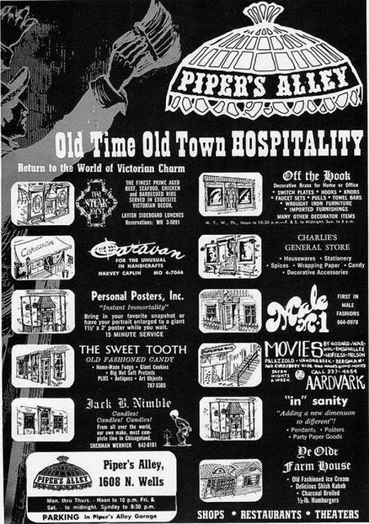 Pipers Alley Poster