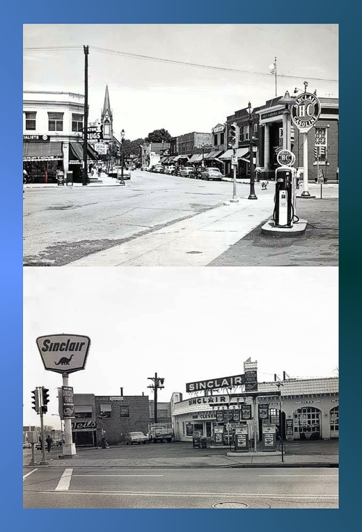 Lincoln Avenue Downtown Skokie 1960s